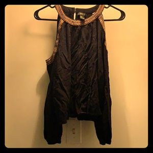 Black top perfect for a night out!